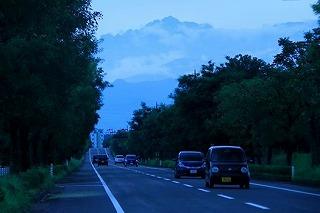 富山空港から剣・谷井さん(ホワイトバランス)