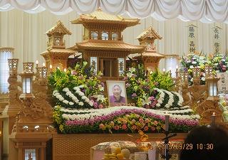 藤原家の葬儀