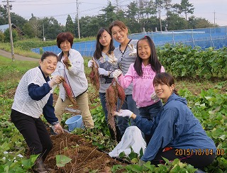 芋掘り・素敵な写真