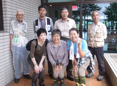 稲永公園観察会にて 2015・9・6