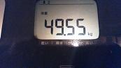 49,5キロ