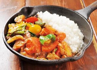 野菜を食べるカレー camp ( ver-2 )