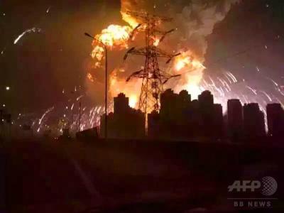 、「火が青く、おかしいと思った」「爆発の後、赤い火の玉が雨のように降ってきた」