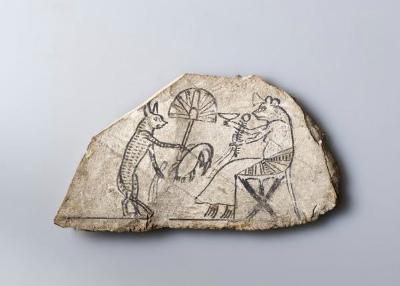 CP6M5aHU8AAosBe古代エジプトの落書き(?)