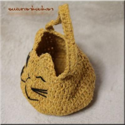 猫顔ちびバッグ011 2