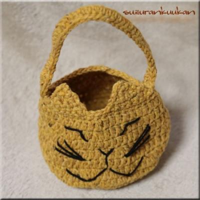 猫顔ちびバッグ011