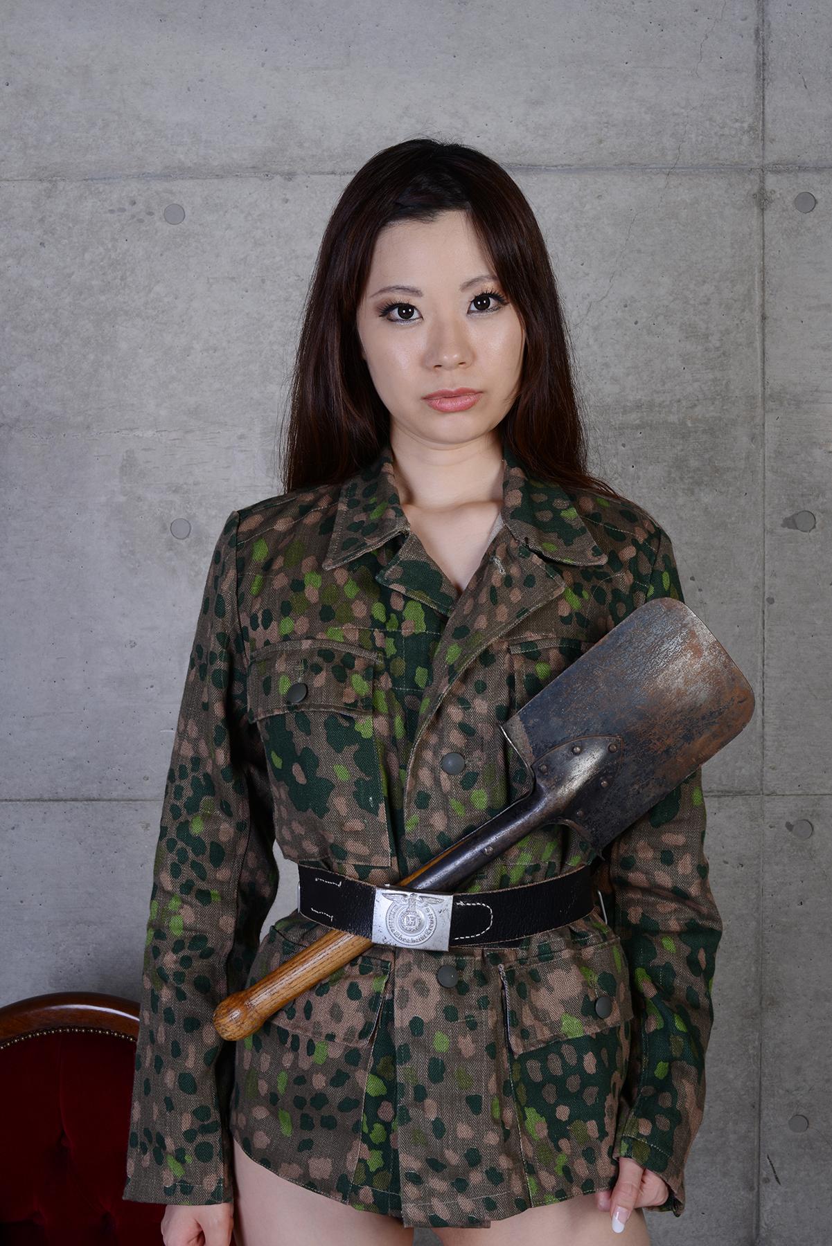 ドイツ軍ストレートスコップ/実物