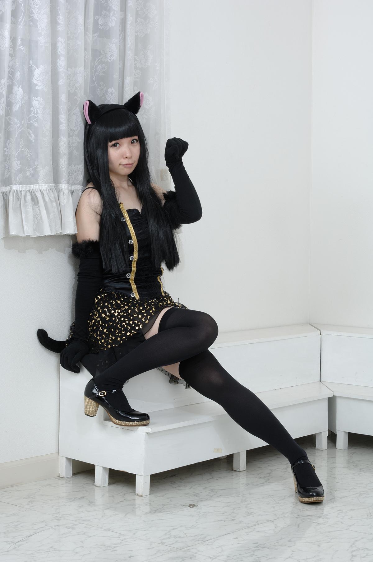 黒猫/オリジナル衣装