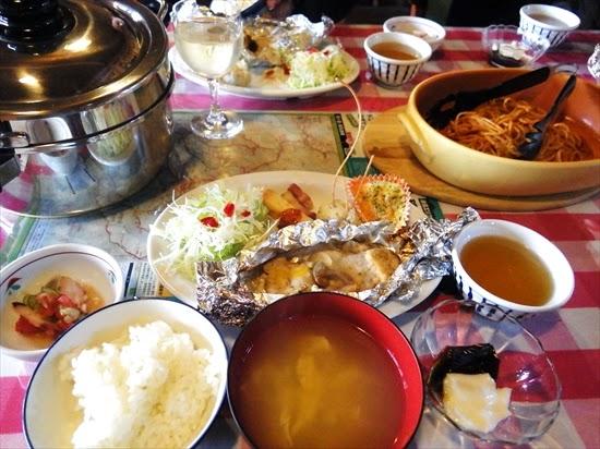 ヒュッテ大槍食事 (1)