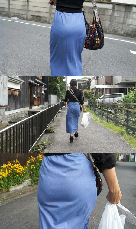 素人着衣モデル#025 かずこ (28歳) vol.8 くっきりパンティライン【Photo&Movie】