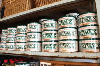 BRIWAX DIY 家具メンテナンス 蜜蝋ワックス