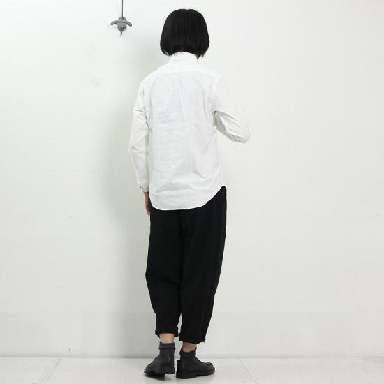 EEL (イール) 陶器釦のシャツ