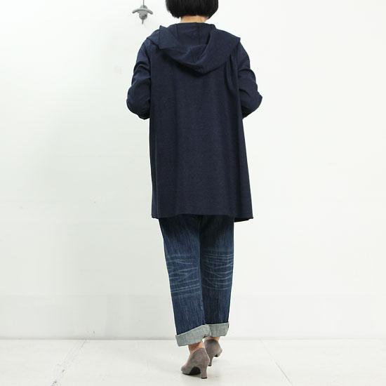 ina (イナ) メランジドビーストレッチパーカーコート