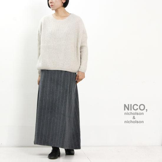 nicholson and nicholson (ニコルソンアンドニコルソン) FIG TOP