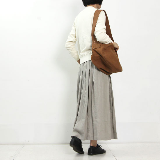 style + confort (スティールエコンフォール) スウェード裏毛ジップブルゾン