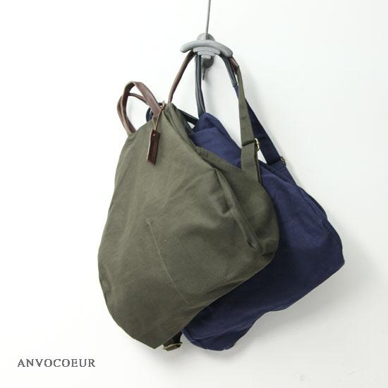 ANVOCOEUR (アンヴォクール) Arbing 2WAYボストンバッグ