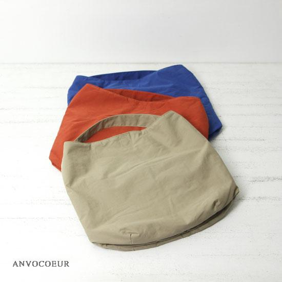 ANVOCOEUR (アンヴォクール) drop of grain リバーシブルワンショルダーバッグ