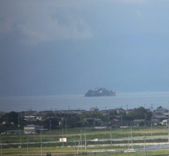 琵琶湖です