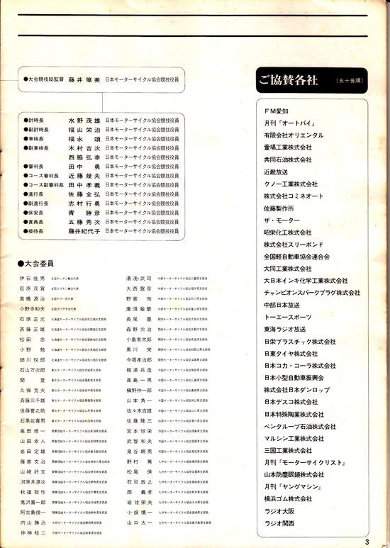 1974年 MFJ 日本GPロードレース大会 3