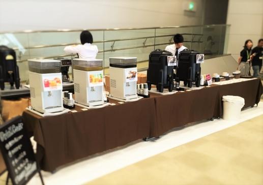 東京ビッグサイト 国際カンファレンス コーヒーブレイク