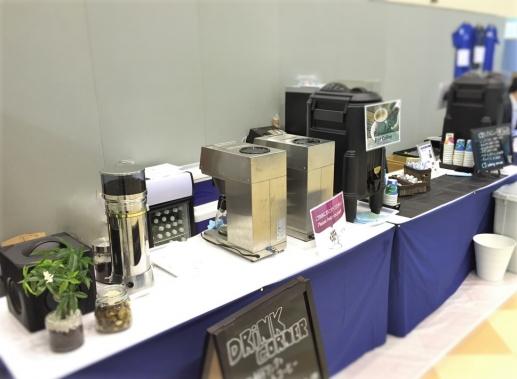金沢 学会 ドリンクコーナー 挽きたてコーヒー