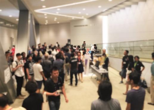 東京ビッグサイト ドリンクコーナー