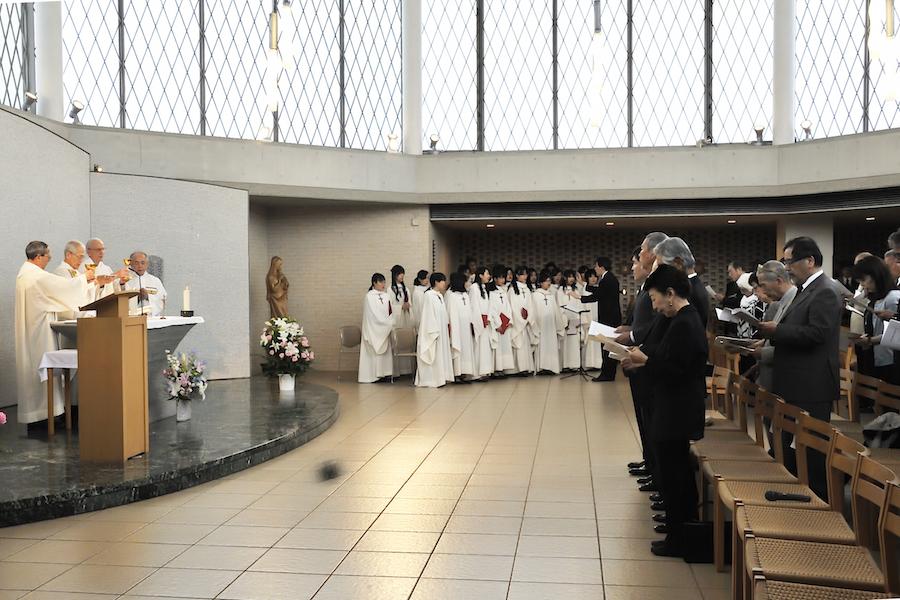4_聖歌隊による追悼ミサ