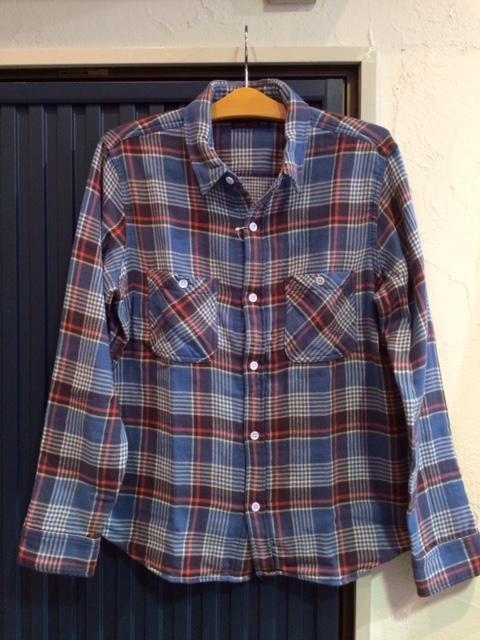 GJ ダブルガーゼチェックシャツ1