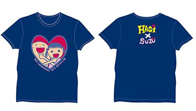 Tシャツはコラボデザイン