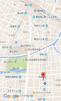 アオヤギ食堂MAP