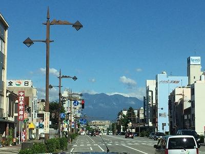 市内から立山連峰201509