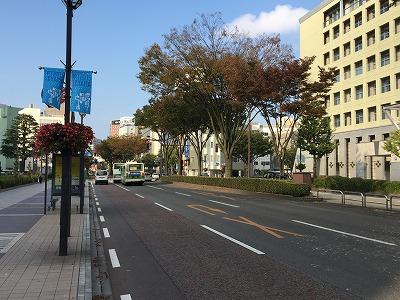 県民会館前道路