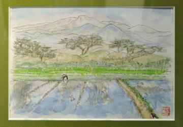 14平紀美子「象潟の春」