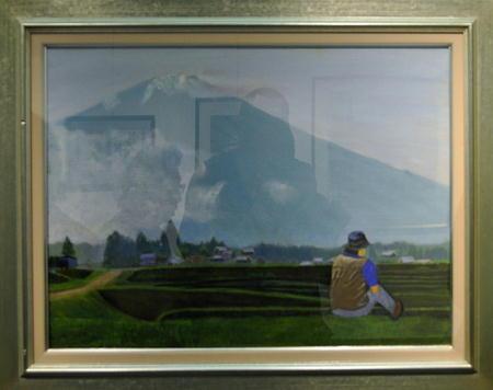 18竹内郁雄「富士山」