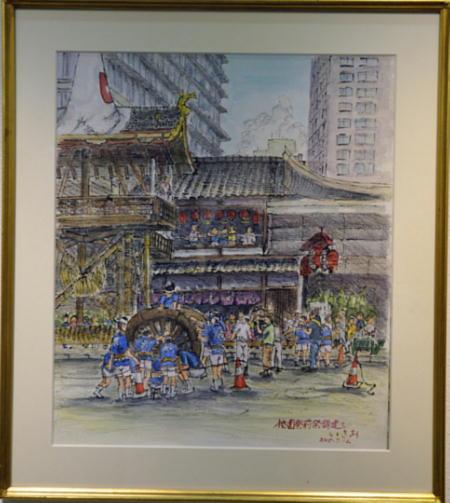 26宮下勲「祇園祭 技の伝承」