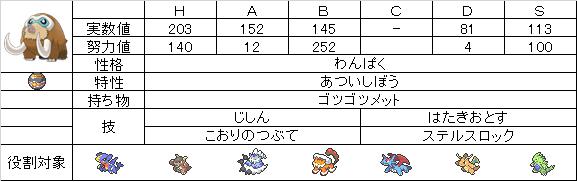 【ステ】マンムー