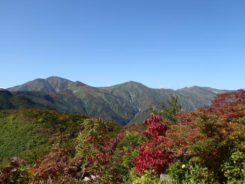 朝日岳紅葉