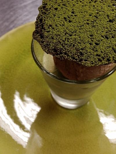 抹茶のブラマンジェ