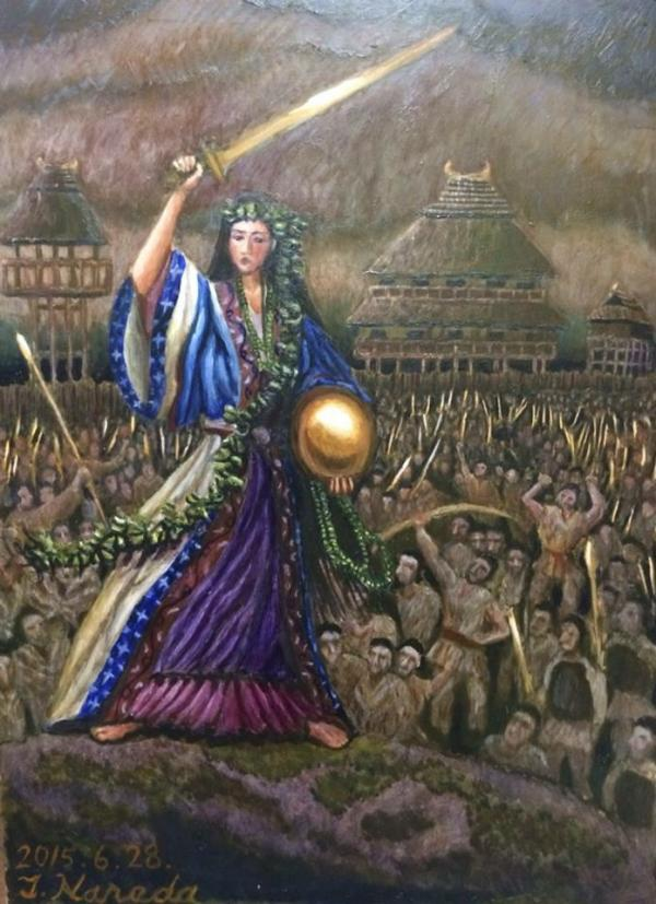 Himiko queen of Yamataikoku