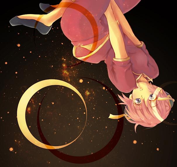「宇宙へ」 神楽(銀魂)