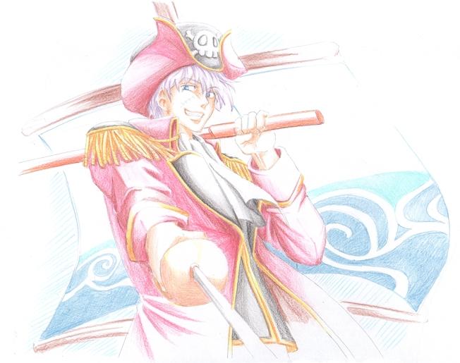 海賊銀さん 銀魂