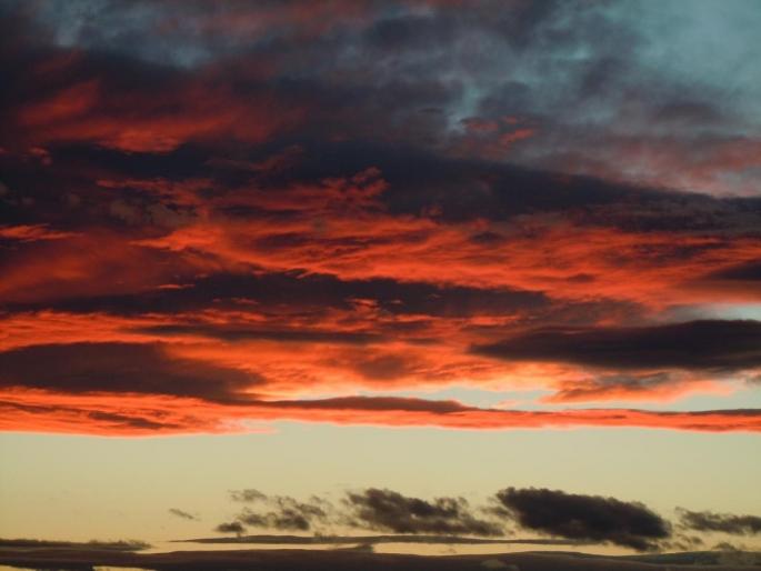 白糠の夕日