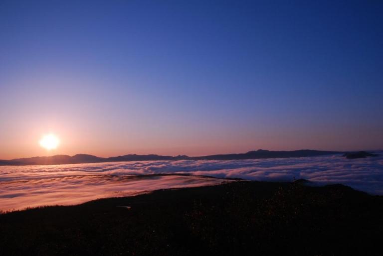 ハイランド小清水725から雲海