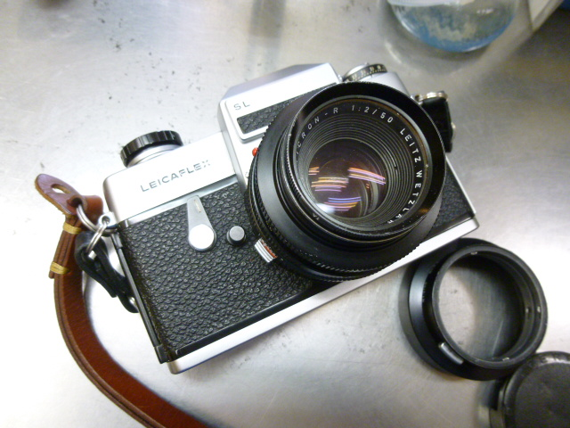 ライカの一眼レフカメラ