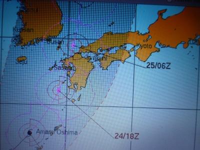 台風15号 2015 8・24