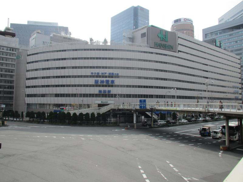 阪神梅田駅1