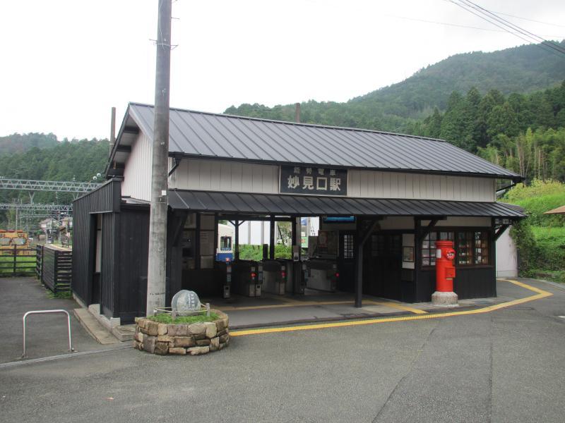 妙見口駅1