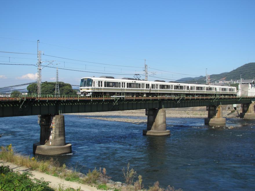 宇治川と奈良線2