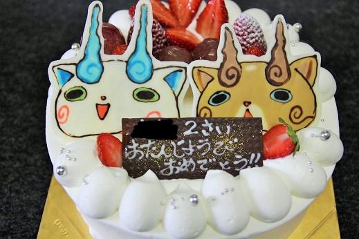 イラストケーキ18