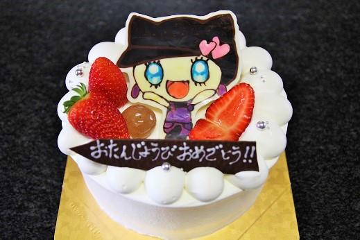 イラストケーキ15
